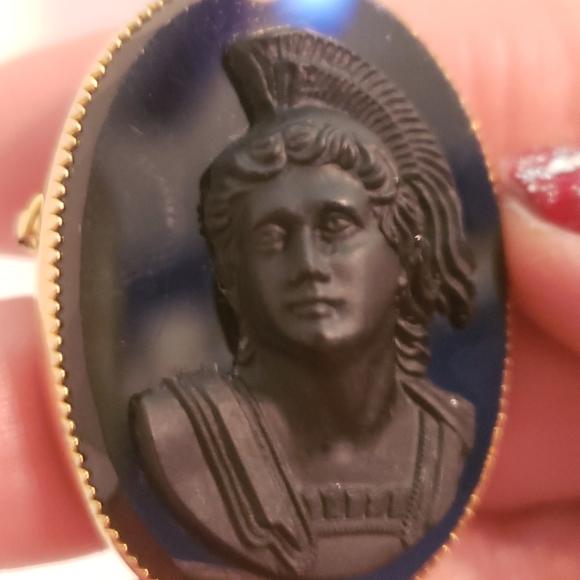 VTG Black Cameo Athena
